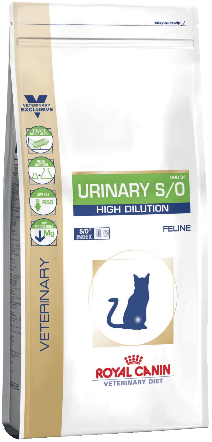 картинка URINARY S/O HIGH DILUTION UHD34 от ЗОО-магазина К-9