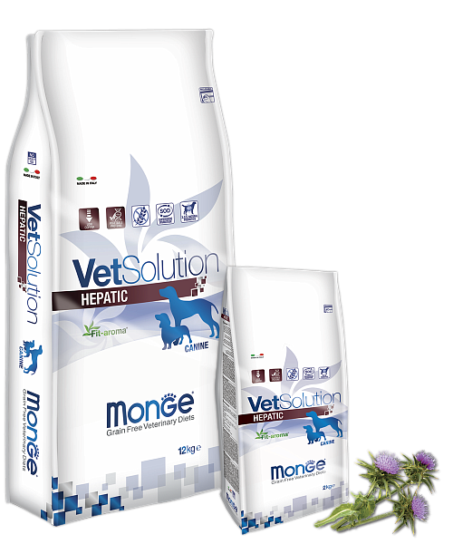 картинка MONGE VETSOLUTION HEPATIC  от ЗОО-магазина К-9