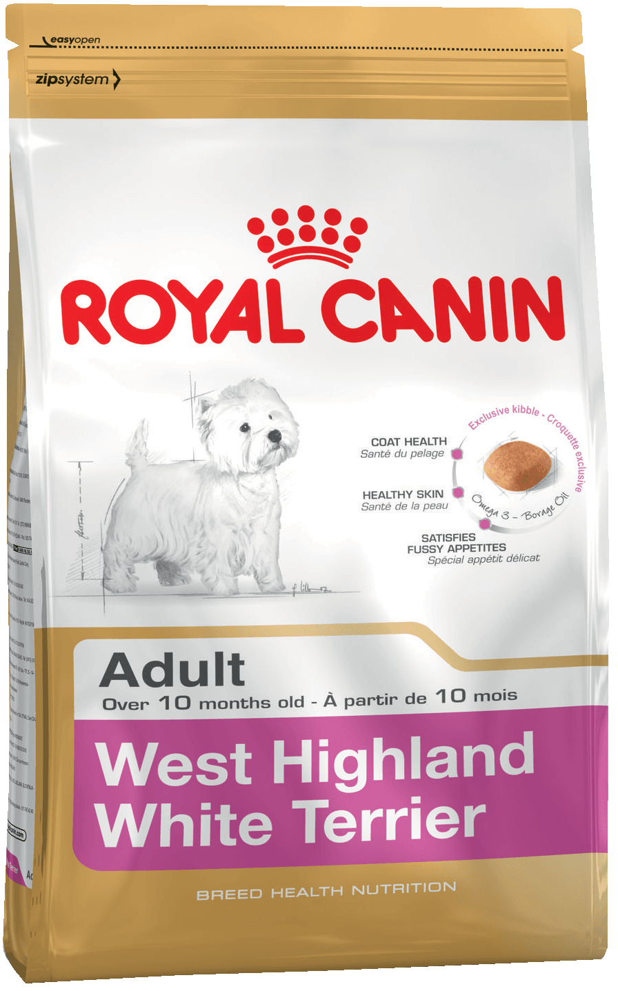 картинка  WEST HIGHLAND WHITE TERRIER ADULT от ЗОО-магазина К-9