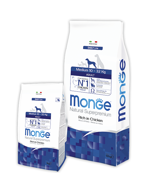 картинка MONGE MEDIUM ADULT от ЗОО-магазина К-9