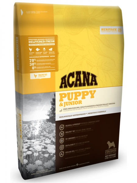 картинка Acana Puppy & Junior от ЗОО-магазина К-9