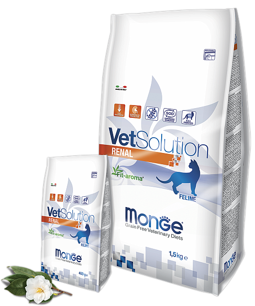 картинка MONGE VETSOLUTION CAT RENAL от ЗОО-магазина К-9
