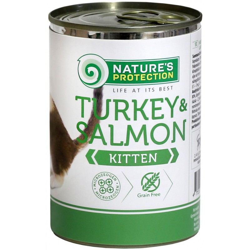 картинка NP Kitten Turkey&Salmon от ЗОО-магазина К-9