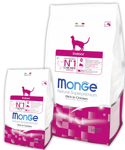 картинка MONGE INDOOR CAT от ЗОО-магазина К-9