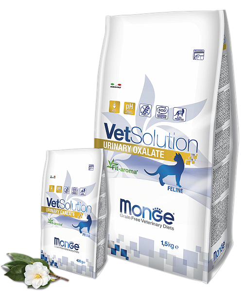картинка MONGE VETSOLUTION CAT URINARY OXALATE от ЗОО-магазина К-9