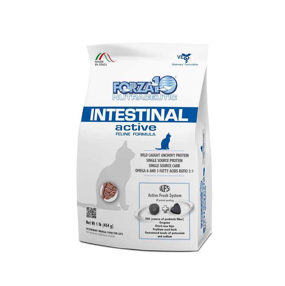 картинка FORZA10 Intestinal Active cat от ЗОО-магазина К-9