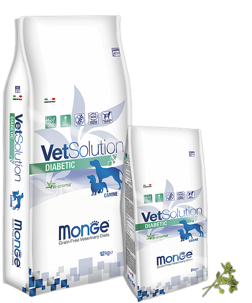 картинка MONGE VETSOLUTION DIABETIC от ЗОО-магазина К-9
